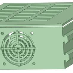 Ender_3_-_Ender_3_Pro_-_Raspberry_Pi_with_LM2596s_buck_converter_with_cover_front.png Télécharger fichier STL gratuit Ender 3 - Ender 3 Pro - Framboise Pi avec convertisseur de dollar LM2596s • Modèle imprimable en 3D, benebrady