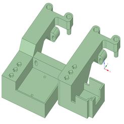 SeeMeCNC_EZR-Struder_Filament_Sensor_Bracket.png Download free STL file Ender 3 Ender 5 - SeeMeCNC EZStruder Filament Sensor • 3D printing model, benebrady