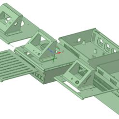Télécharger fichier STL Convertisseur SKR Pro 1.1 ou SKR 1.3 ou SKR Mini E3 avec framboise Pi 3B+ et QEBIDUL LM2596S Buck • Modèle imprimable en 3D, benebrady