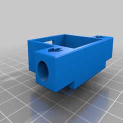 Creality_Filament_Sensor_-_Housing_-_3.00_mm.png Download free STL file CR10S and Ender 5 Filament Runout Sensor Housing - 2020 Extrusion Mount • 3D print model, benebrady
