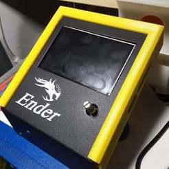 20200601_085831[1.jpg Download free STL file Ender 3 - BigtreeTech TFT35 E3 v3.0 Slide on Cover • 3D printer design, benebrady
