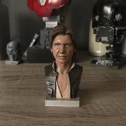 STL gratuit Buste Han Solo, N3m