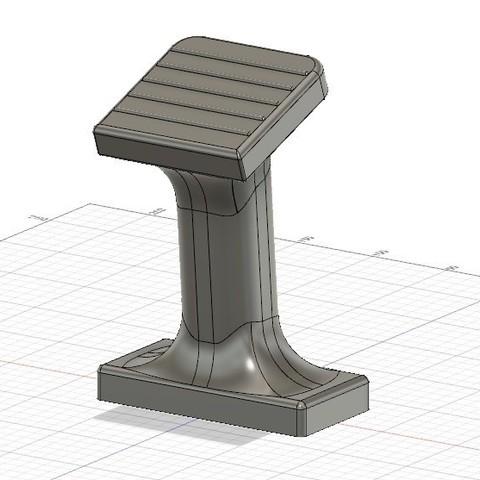 repose_pied_v2.jpg Download STL file footrest for polaris quad bikes • 3D printer object, alexsamu62