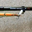 Free stl Hook Keeper for fishing rod, Domi1988