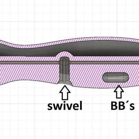 3b06dda54609f4c3ef44cad2a3866b94_display_large.jpg Download free STL file Popper fishing lure 150mm (build in air chamber) • 3D printable design, Domi1988