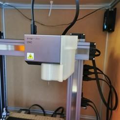 Descargar modelo 3D gratis Zapato de polvo de vacío Snapmaker 2.0 CNC, Domi1988
