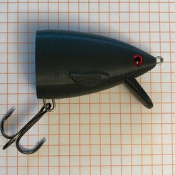Free STL file Swimbait/Glidebait unbreakable Heads, Domi1988