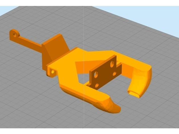 67747b83cbf494375b673b06a4ba5c42_preview_featured.jpg Download free STL file Anycubic I3 Mega 2 side fanduct rear mounted radial • 3D print object, Domi1988