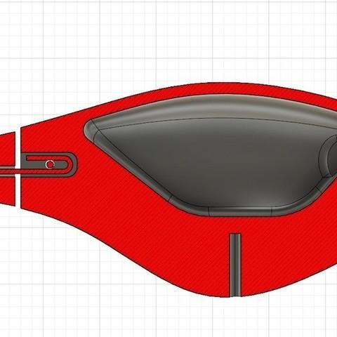 f3ccdd27d2000e3f9255a7e3e2c48800_display_large.jpg Télécharger fichier STL gratuit Mini leurre de pêche Whopper Plopper (une pièce) • Objet imprimable en 3D, Domi1988