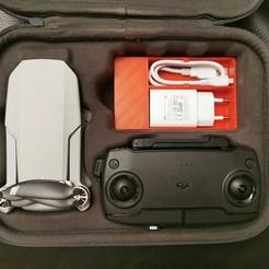 Descargar STL gratis DJI Mavic Mini compartimento de la caja, Domi1988