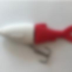 Head_Glidebait_Line_thru.stl Download free STL file Swimbait/Glidebait Line Thru Heads • 3D printing template, Domi1988