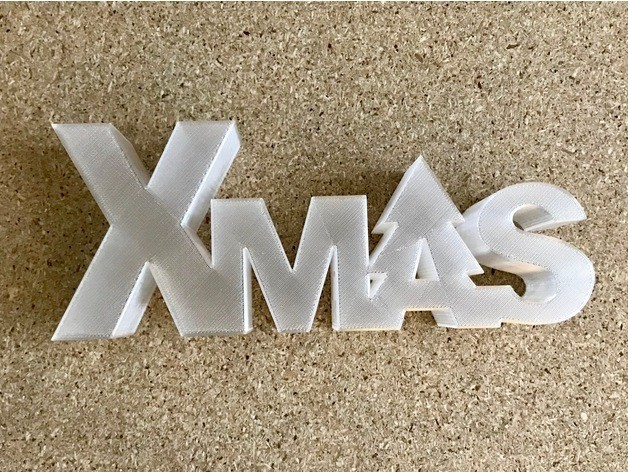 3e647ce6136031a93ad4651b260b0800_preview_featured.jpg Download free STL file Xmas lettering box/led • 3D printing template, Domi1988