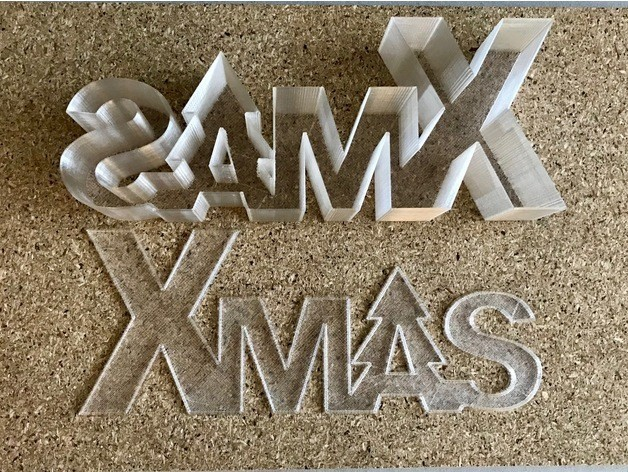 427f716a251e9eb1cc4405da25d8529c_preview_featured.jpg Download free STL file Xmas lettering box/led • 3D printing template, Domi1988