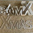 Download free 3D printer files Xmas lettering box/led, Domi1988
