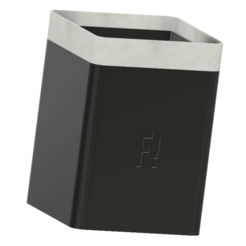 visuel.png Download free STL file Pencil Pot F! • 3D printing object, florianleclerc