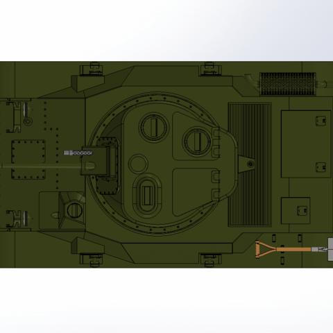 Capture d'écran (65).png Download free STL file M-22 tank • Model to 3D print, DordseGer