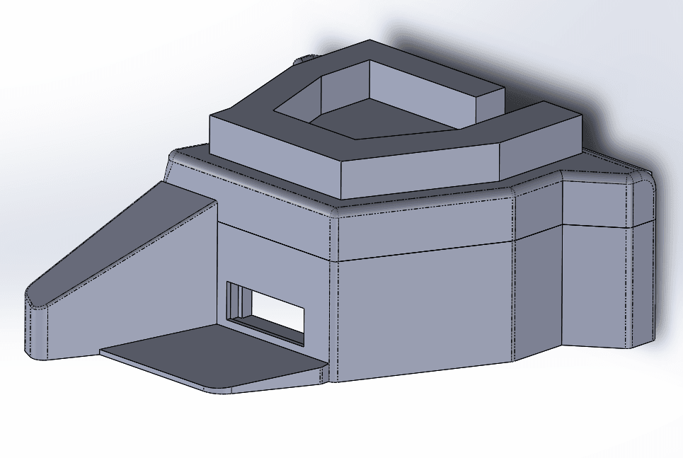 Capture d'écran (49).png Download free STL file Bunker WW2 1:72 • 3D print object, ekynops