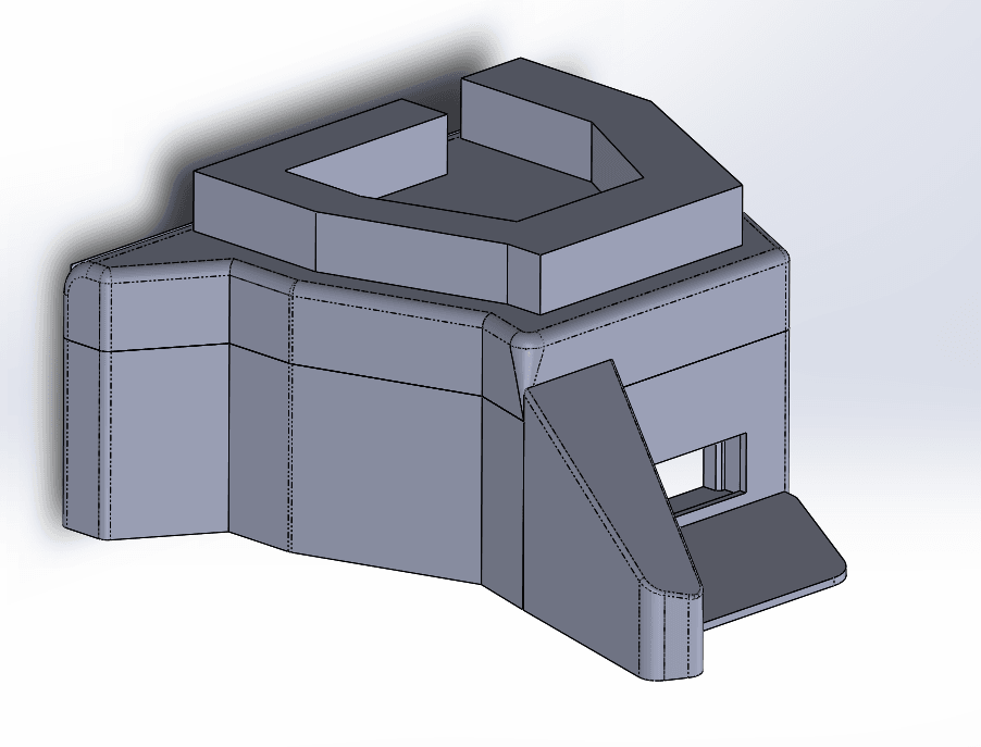 Capture d'écran (50).png Download free STL file Bunker WW2 1:72 • 3D print object, ekynops