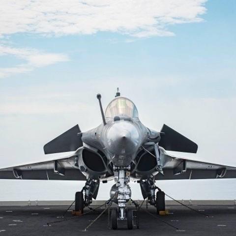 Télécharger plan imprimante 3D gatuit Dassault Rafale, ekynops