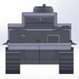Descargar STL gratis Tigre I, tanque alemán, ekynops