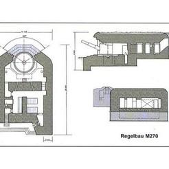 3D printer models Bunker WW2, ekynops