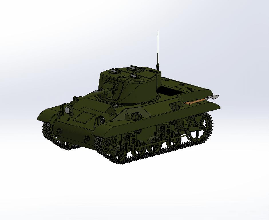 Capture d'écran (64).png Download free STL file M-22 tank • Model to 3D print, DordseGer
