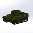 Download free 3D printing files M-22 tank, DordseGer