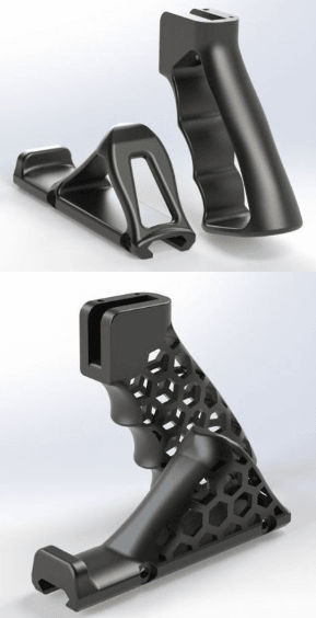 grip.png Download free STL file Airsoft Grip • 3D printing model, ekynops