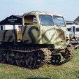Download free 3D printer templates German WWII Tanks Trucks, ekynops