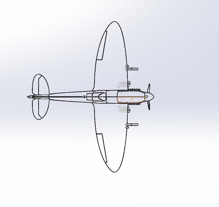 Capture d'écran (73).png Télécharger fichier STL gratuit  Supermarine Spitfire • Modèle pour imprimante 3D, ekynops