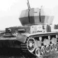 Imprimir en 3D gratis El flakpanzer alemán, ekynops