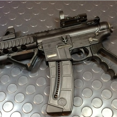 f976d90d44c97da624a61fd6bf374542_preview_featured.JPG Download free STL file Airsoft Grip • 3D printing model, ekynops