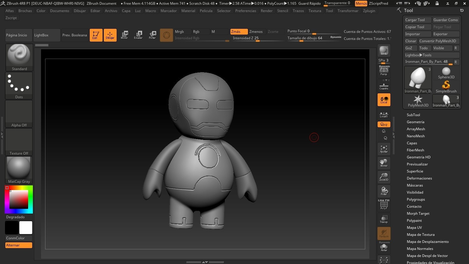 hh.jpg Download free STL file Iron Man Cartoon • 3D printing model, Fizzer2130
