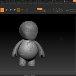 modelos 3d gratis Iron Man Cartoon, Fizzer2130