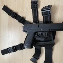 Download 3D print files MK23 DTD trigger pouch, Piccolino