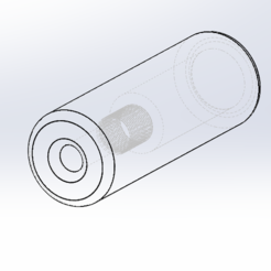 Download 3D printing files Silencer Airsoft 14MM (35x100), Piccolino