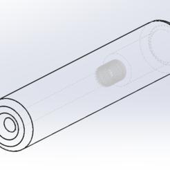 Download 3D print files Silencer Airsoft 14MM (35x180), Piccolino
