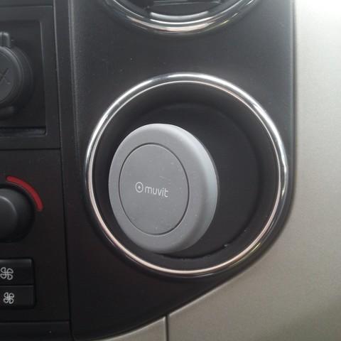 20180614_122358[1].jpg Download free STL file magnetic phone holder Berlingo Citroën, Partner Peugeot • 3D print model, lucain