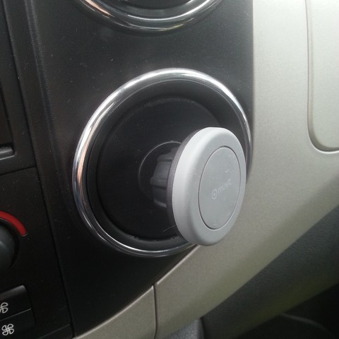 20180614_122415[1].jpg Download free STL file magnetic phone holder Berlingo Citroën, Partner Peugeot • 3D print model, lucain