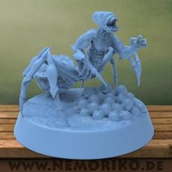 Sci-fi_Monster01.jpg Télécharger fichier OBJ Nemoriko's : Sci-Fi / Monstre de fantaisie • Design à imprimer en 3D, Nemoriko