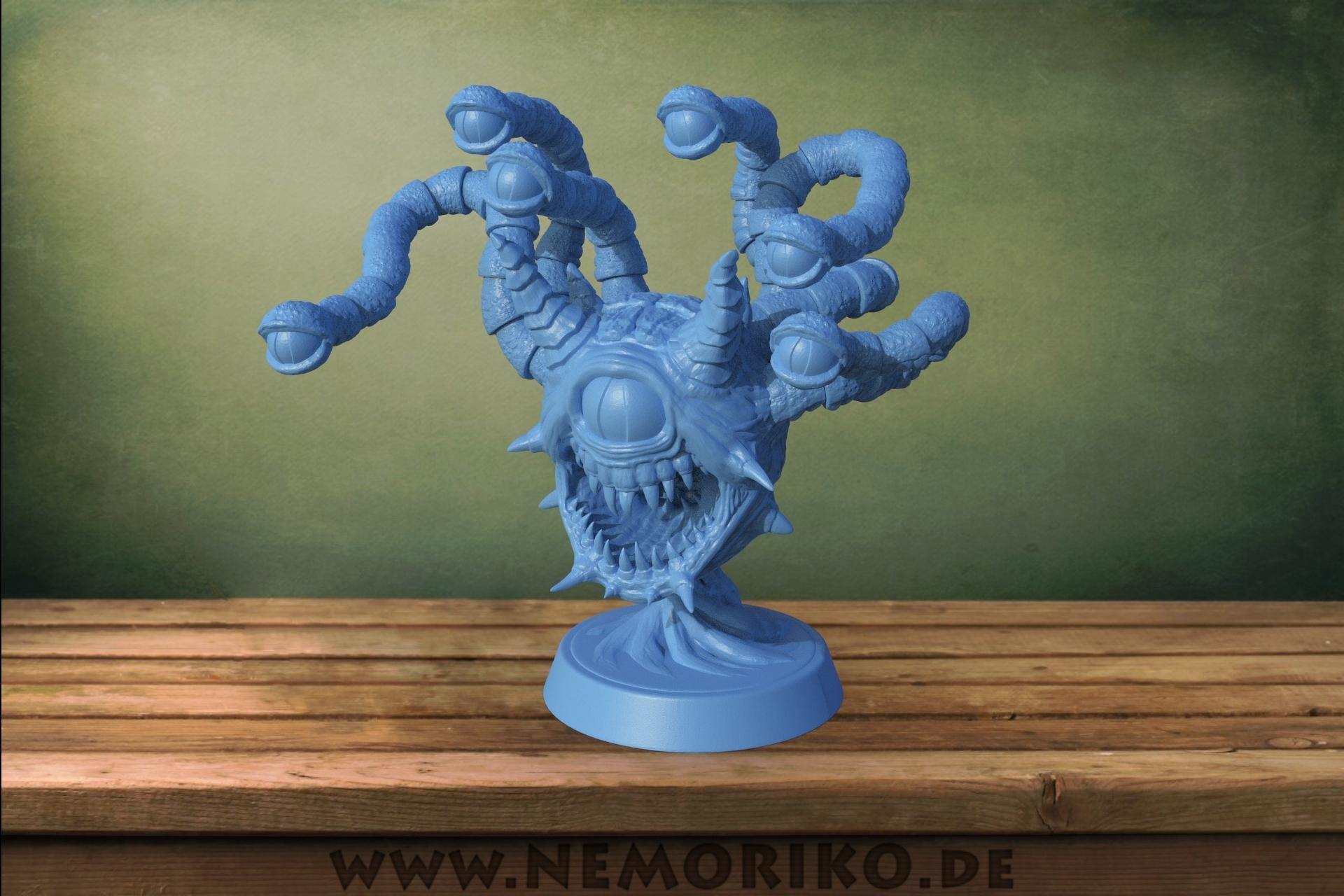 Beholder.jpg Télécharger fichier STL Nemoriko's : Beholder (pour table, ...) • Modèle imprimable en 3D, Nemoriko