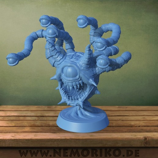 Download STL file Nemoriko´s : Beholder (for tabletop, ...) • 3D printing object, Nemoriko