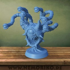 Download STL file Nemoriko´s : Beholder (for tabletop, ...) • 3D printing object, Nemoriko