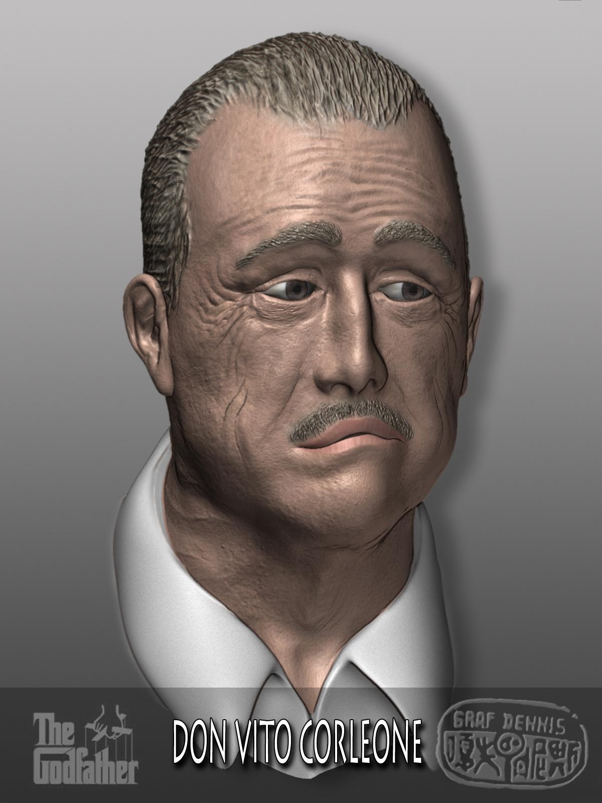 DON_VITO_FINAL.jpg Télécharger fichier OBJ gratuit Le parrain - Der Pate - Don Vito Corleone • Design à imprimer en 3D, Nemoriko