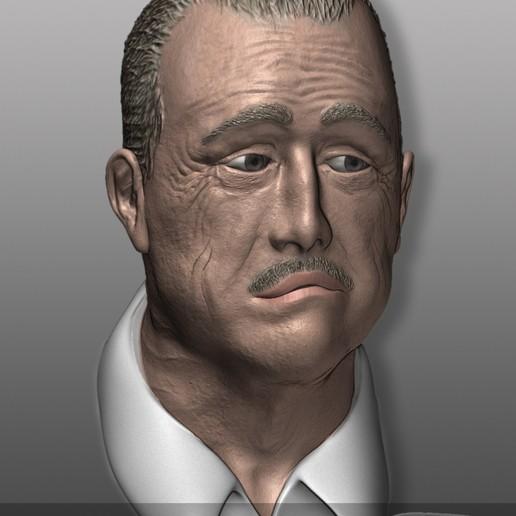 Download free OBJ file The Godfather - Der Pate - Don Vito Corleone • 3D printable object, Nemoriko