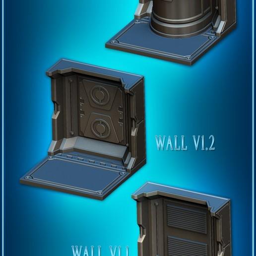 Download STL file Modular Space Tiles (Additional Set 1 for your tabletop) [Kickstarterproject] • 3D print object, Nemoriko