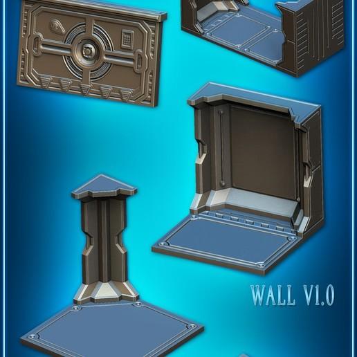 mainset.jpg Télécharger fichier STL Modular Space Tiles (kit de base pour votre table) [Kickstarterproject] • Modèle imprimable en 3D, Nemoriko