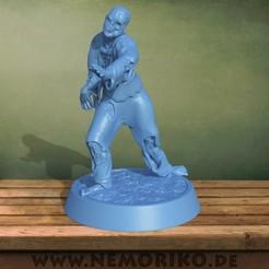 zombie.40.jpg Télécharger fichier OBJ Nemoriko`s : Zombie de table 01 • Plan pour imprimante 3D, Nemoriko