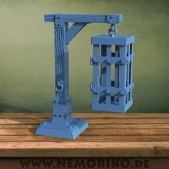 Kaefig.46.jpg Télécharger fichier STL Nemoriko's : Eiserner Käfig / Cage de fer • Modèle imprimable en 3D, Nemoriko
