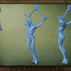 opfer.31.jpg Download OBJ file Nemoriko´s : Dungeon Victim - Prisoner - Opfer • 3D print object, Nemoriko